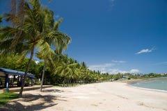 Het strand van de Baai van Hervey stock fotografie