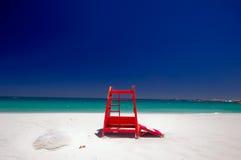Het strand van de Baai van kampen, Kaapstad. Zuid-Afrika Stock Fotografie