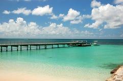 Het strand van de Bahamas Stock Foto's