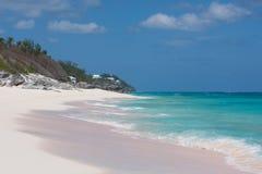 Het strand van de Bermudas stock afbeeldingen