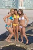 Het Strand van de bikini Stock Afbeeldingen