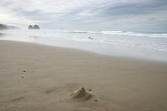 Het Strand van de canon Royalty-vrije Stock Afbeeldingen