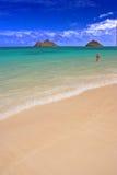 Het strand van de droom Stock Afbeelding