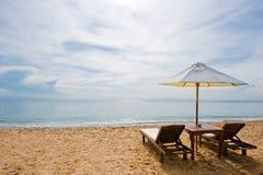 Het strand van de droom Stock Foto's