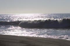 Het Strand van de geitrots - de noordwestelijke Sonoma-Provincie, Californië, is de mond van de Russische Rivier stock fotografie