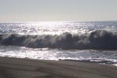 Het Strand van de geitrots - de noordwestelijke Sonoma-Provincie, Californië, is de mond van de Russische Rivier stock afbeeldingen