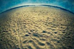Het Strand van de Grungestijl Stock Foto