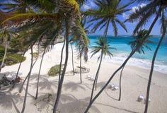 Het strand van de gulle gift stock foto's