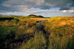 Het strand van de inham, Schotland royalty-vrije stock afbeelding