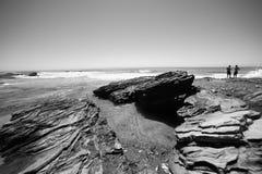 Het strand van de Inham van het kristal Royalty-vrije Stock Afbeelding