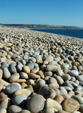 Het Strand van de kiezelsteen Stock Afbeeldingen