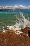 Het strand van de kiezelsteen Royalty-vrije Stock Fotografie