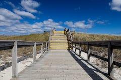 Het strand van de kraan, Ipswitch, Massachusetts, de V.S. Royalty-vrije Stock Foto