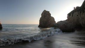 Het Strand van de Malibukust stock videobeelden