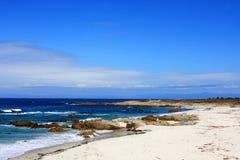 17 het strand van de mijlaandrijving Stock Fotografie