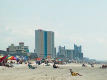 Het strand van de mirte Royalty-vrije Stock Afbeelding