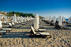 Het Strand van de oase. Stock Afbeeldingen