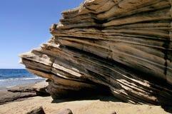 Het strand van de rots Stock Fotografie