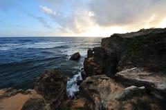 Het Strand van de schipbreuk - Kauai, Hawaï, de V.S. Royalty-vrije Stock Foto