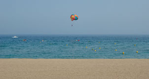 Het strand van de sport Stock Afbeelding