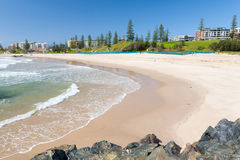 Het Strand van de stad royalty-vrije stock fotografie
