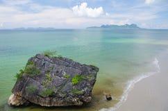 Het strand van de steen Stock Fotografie