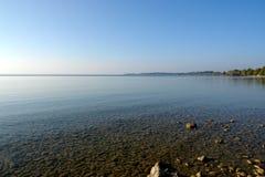 Het Strand van de Steen van Chimsee Royalty-vrije Stock Afbeeldingen