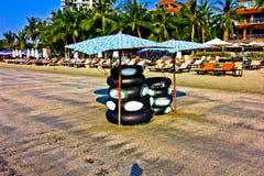 Het strand van de Suanzoon pradipat royalty-vrije stock fotografie
