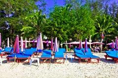 Het strand van de Suanzoon pradipat stock afbeeldingen