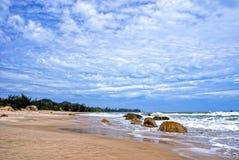 Het Strand van de Tram van Ho - Vietnam stock afbeelding