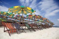 Het Strand van de vakantie. Stock Afbeeldingen