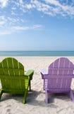 Het Strand van de Vakantie van de zomer stock foto
