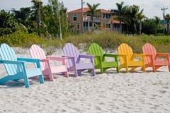 Het Strand van de Vakantie van de zomer stock fotografie