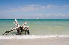 Het Strand van de Vakantie van de zomer stock afbeelding