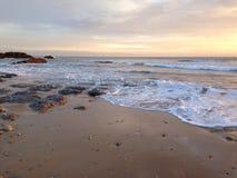 Het strand van de winter Royalty-vrije Stock Foto