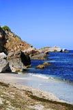 Het strand van de zomer Stock Foto