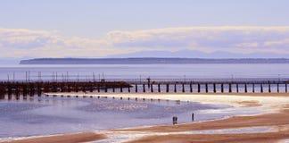 Het strand van de zomer Royalty-vrije Stock Foto's