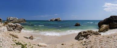 Het strand van de zomer Stock Afbeelding
