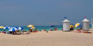 Het strand van Doubai JBR Stock Foto