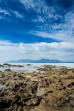 Het Strand van Dungun Stock Afbeeldingen