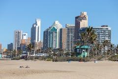Het strand van Durban royalty-vrije stock foto