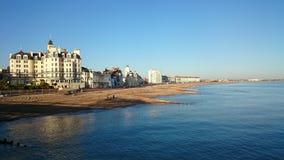 Het strand van Eastbourne Royalty-vrije Stock Fotografie