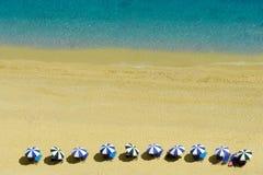 Het strand van Egremni, Lefkada, Griekenland Stock Afbeelding
