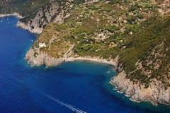 Het strand van Elba eiland-Patresi Royalty-vrije Stock Foto's