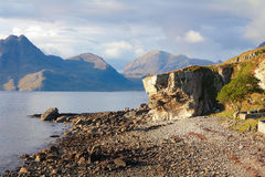 Het strand van Elgol Royalty-vrije Stock Foto