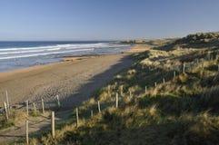 Het strand van Fanore Stock Foto