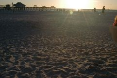 Het strand van Florida stock foto's