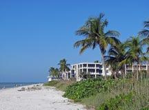 Het strand van Florida Royalty-vrije Stock Afbeeldingen