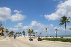 Het Strand van Fort Lauderdale Royalty-vrije Stock Foto