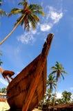 Het strand van goa-India. Royalty-vrije Stock Afbeeldingen